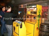 Six Gun Saloon Shooting Gallery Game