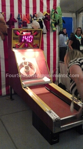 Vintage Skee Ball Alley