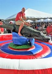 Wild Gator Challenge- The Mechanical Alligator Ride