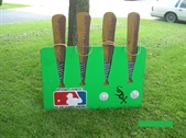 Baseball Bat Ring Toss