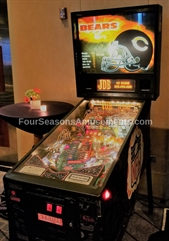 Chicago Bears NFL Pinball Machine