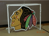 Chicago Blackhawk Hockey Hot Shot