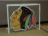 Chicago Blackhawk Hockey Hot Shot