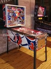 "Chicago Blackhawks ""Bobby Orr Power Play"" Vintage Pinball Machine"