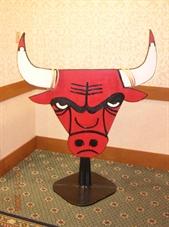 Chicago Bull Ring Toss