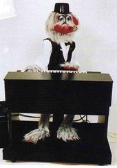 Chirpy the Piano Playing Talking Robot