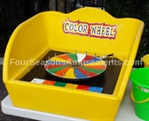 Color Wheel Tub Game