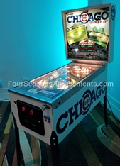 Chicago Cubs Vintage Pinball Machine
