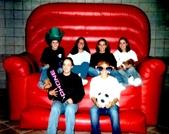 Big Inflatable Sofa Photo Opp