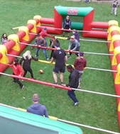 Giant Inflatable Human Foosball