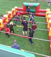 Giant Inflatable Human Foosball