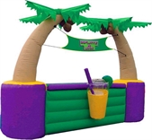 "Inflatable Beverage Bar - ""The Palm Beach Cantina"""