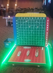 Giant LED Light Up Battleship