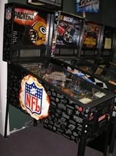 Green Bay Packers Pinball Machine