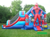 Spiderman Inflatable Adventure