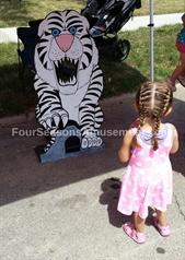 Tiger Bean Bag Toss