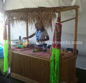 Tiki Hut Kiosk