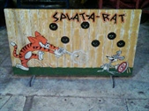 Splatt-A-Ratt Cork Gun Shooting Gallery