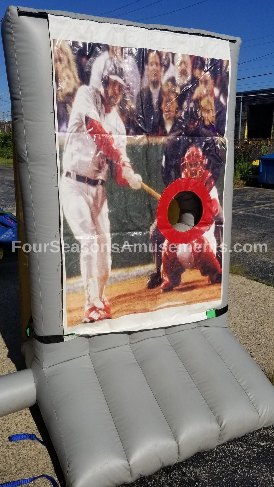 Baseball Toss Inflate